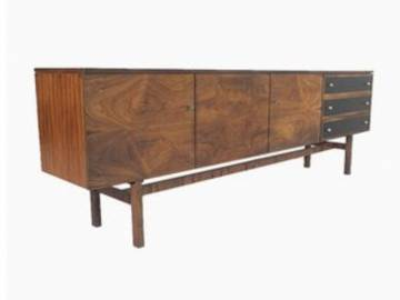 Rosewood sideboard by Musterring, 1960s  * S O L D *